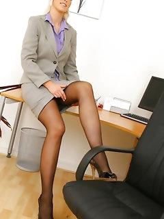Office Porn and Secretary Pics